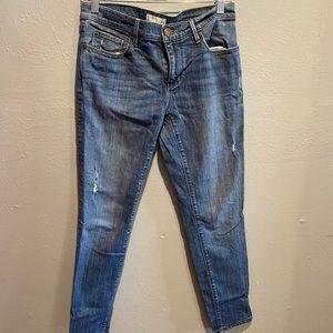 LOFT Relaxed Skinny Jeans Sz 4